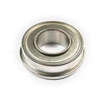 A flanged miniature bearing with extended inner ring