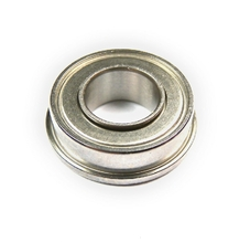 Miniature bearing with tapered O.D.