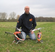 Ian Emery RC helicopter pilot